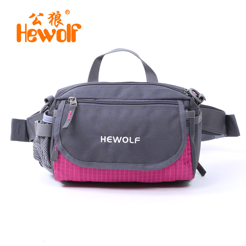 2018 Hot Sale New Arrival Nylon Unisex No Outdoor Sport Camping One Shoulder Bags Travel Backpack Bicycle Hiking Waist Bag