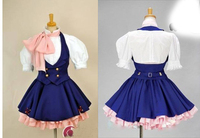 Macross Frontier Sheryl Nome Cosplay Costume ensemble