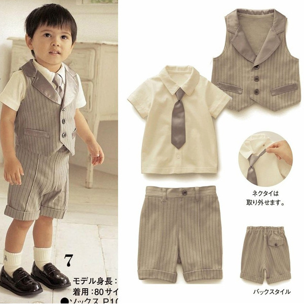 1828b71ff neutral newborn designer infant suits baby boy kid girl clothes toddler  girl boutique clothing sets wedding sailor suit