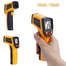 Wholesale prices Non-Contact Handheld IR Infrared Digital Temperature Thermometer Laser LCD Display Thermometer Pyrometer -50~400C -50~600C