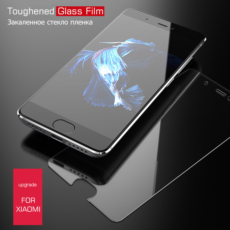 2.5d 9h Tempered Glass For Xiaomi Pocophone F1 5x A1 8 Se For Redmi 5 Plus Y1 Lite Note 4x 4 5 Pro S2 6 6a Film Protector