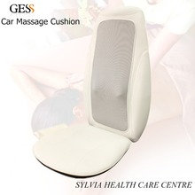 Free shipping 12V Household&Car Use Massage Pad Back massager cushion heated car massage cushion 110-220V can be used