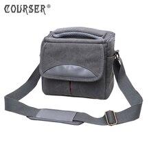 COURSERR Canvas Camera Bag SLR Digital Shoulder Bag shoulder Case with free Inner Padded New Arrivals