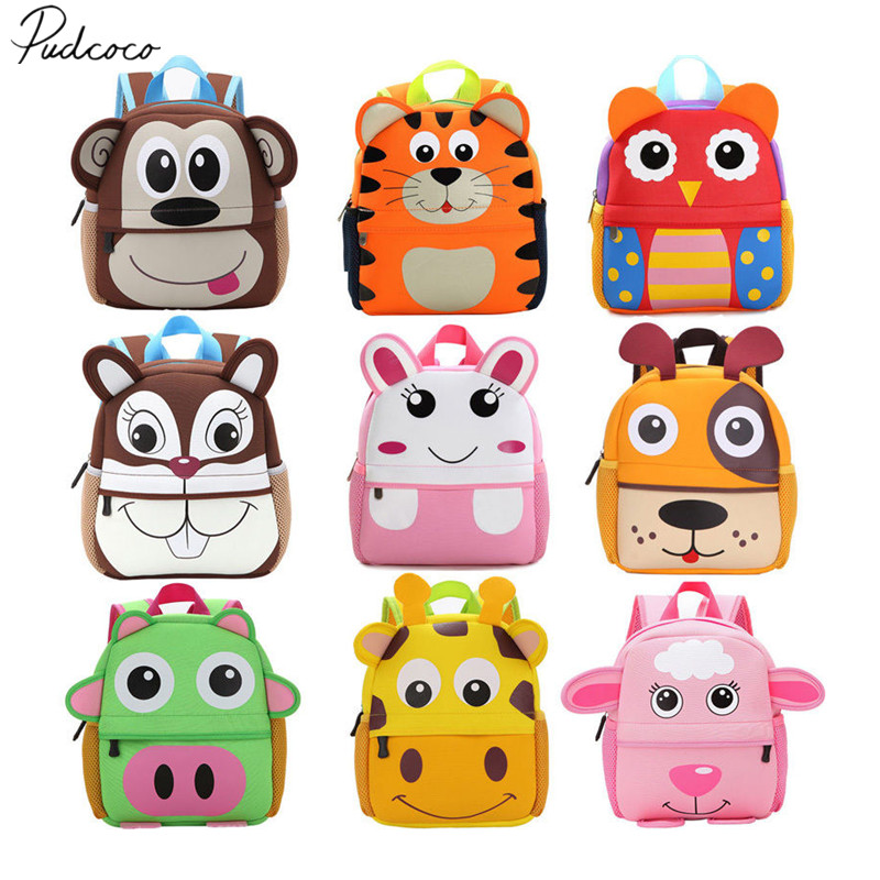 US $3.77 10% OFF|2018 Brand New Animal Backpack Toddler Kid Children Boy Girl 3D Cartoon School Bag Kindergarten Child Backpack Book Bag Gifts-in Plush Backpacks from Toys & Hobbies on Aliexpress.com | Alibaba Group