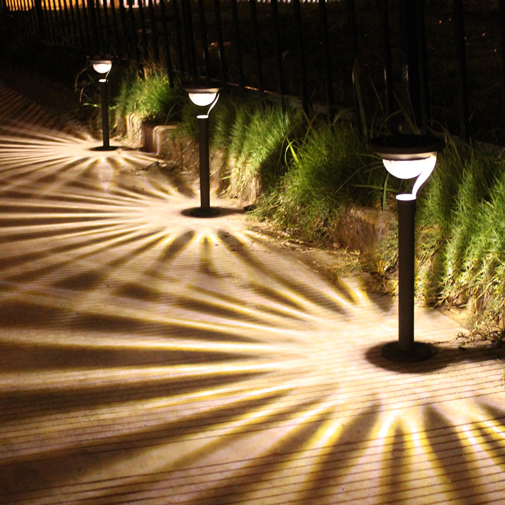 LED Light Garden Lamps Path Way Decoration Solar Lawn Lamp Waterproof Landscape Spotlight Night Garden Light Christmas Lamp in Solar Lamps from Lights Lighting