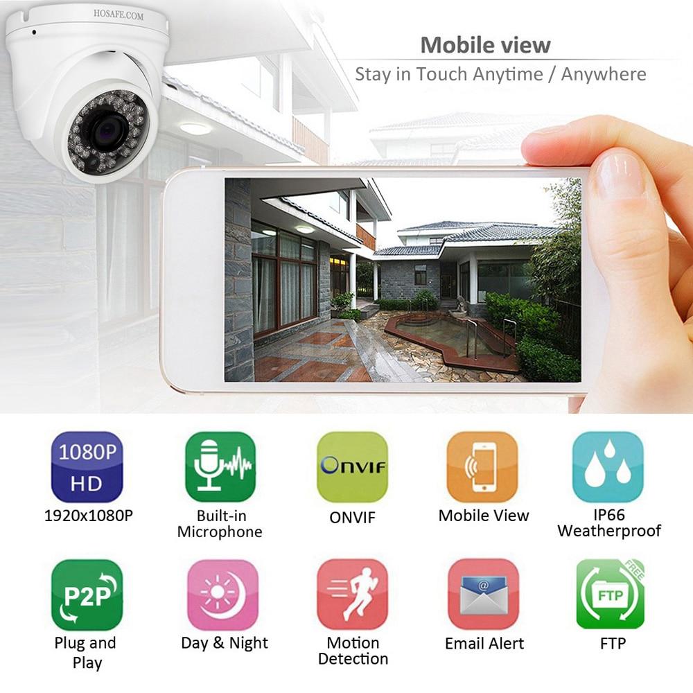 starlight full hd 960p 1080p outdoor ip camera intelligent infrared surveillance camera ip onvif motion detection email alert HOSAFE 1080P HD IP Camera ONVIF Waterproof Motion Detection and Email Alert ,FTP access