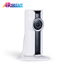 ANRAN HD Wireless IP Camera 960P Night Vision Security Camera Mini 180 Degree Viewing WIFI Indoor Home Surveillance Camera
