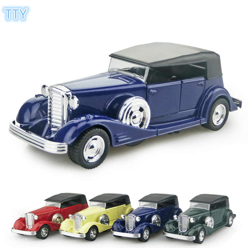 Hot sale alloy Vintage car Model classical vehicle metal Model cars ...
