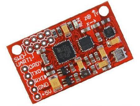 Livraison Gratuite! 1 module de capteur IMU AHRS 10DOF MPU6050 HMC5883 BMP180 instrument d'attitude avec code source