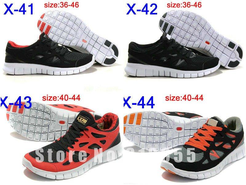 253d1c242589b Free shipping Wholesale!Hot Sales! Men and Women Free Run+ 2 Running Shoes