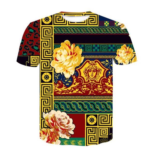 Printed Crown Tshirt T...