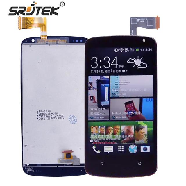Srjtek экран для HTC Desire 500 ЖК-дисплей Дисплей планшета Сенсорный экран Стекло Панель ЖК-дисплей Дисплей сборки Замена + Инструменты
