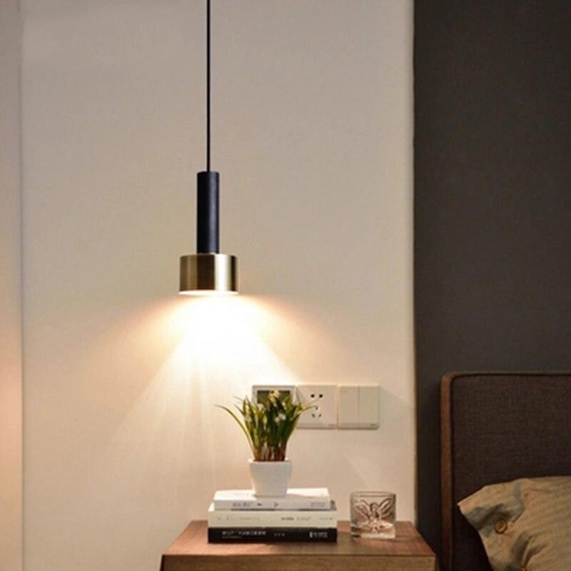 LukLoy Dänemark Stil FÜHRTE Anhänger Licht Metall LED Anhänger Lampe ...