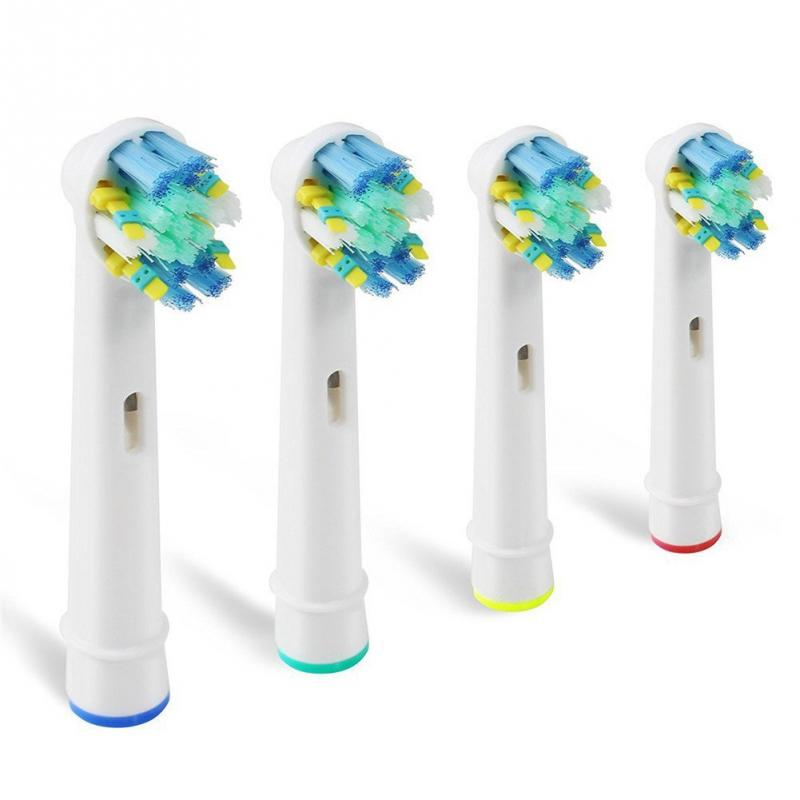 4 PCS EB-25A Electric Tooth Brush Replacement Heads Replacement Fit For Oral B Teeth Clean