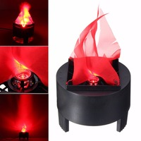 US Plug EU Plug LED Fake Flame Lamp Mayitr Holloween Torch Light Fire Pot Bowl Party