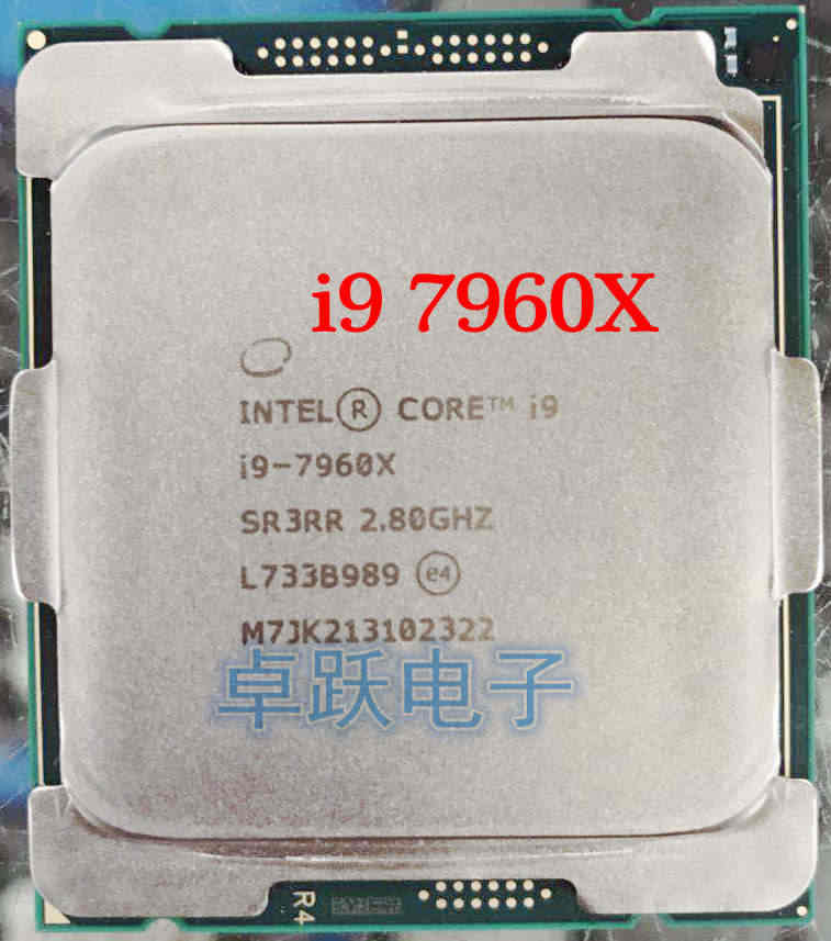 Original i9 7960X i9-7960X CPU Processor 2.8GHZ LGA2066 16-Core scrattered pieces free shipping