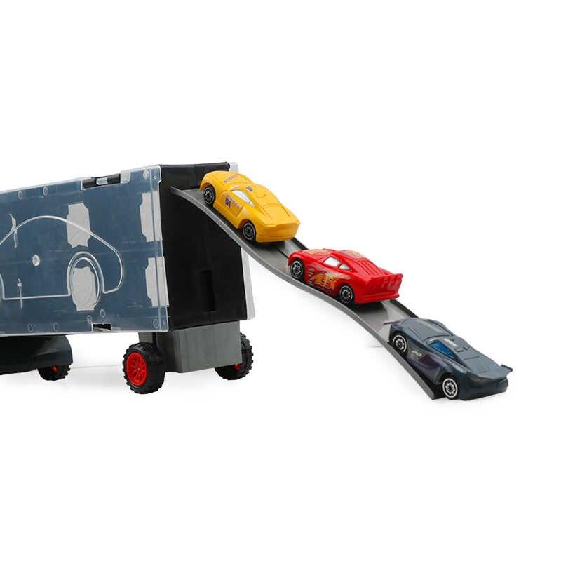 7 шт. disney Pixar Cars 3 Lightning McQueen Jackson Storm Mack Uncle Truck 1:55 литая под давлением модель подарок на день рождения игрушка для мальчика