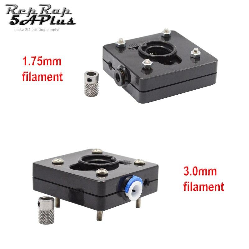 Ultimaker 2 Bowden extrusora alimentador con engranaje (sin Motor) para 1,75mm filamento UM2 extrusor remoto 3D piezas de la impresora