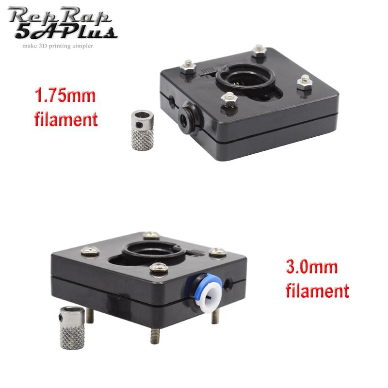 Ultimaker 2 Bowden Extruder Feeder With Drive Gear (No Motor) For 1.75mm Filament UM2 Remote Extruder 3D Printer Parts Reprap ultimaker original bowden extruder feeder assemble kit set for diy 3d printer parts for 3 mm filament