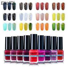 Elite99 Kresek Gel Cat Kuku UV Warna Vernis Semi Permanen Gel Varnish Manicure Top Coat Glitter Hybrid Nail Art(China)