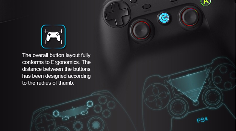 GameSir G3s Gamepad for PS3 Controller Bluetooth&2.4GHz snes nes N64 Joystick PC for Samsung Gear VR Box for SONY Playstation 14