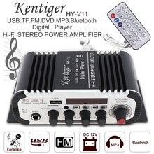 Fm-радио приемник 2CH Hi-Fi Bluetooth автомобильный аудио усилитель мощности fm-радио плеер SD USB DVD MP3 вход для автомобиля мотоцикла дома