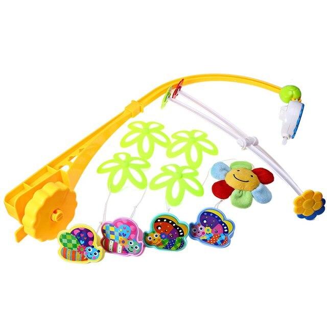 Прекрасный Младенческой Сейф батарейках Висит Кровать Колокол для Вашего ребенка Пение Cradlesong Счастливое Детство