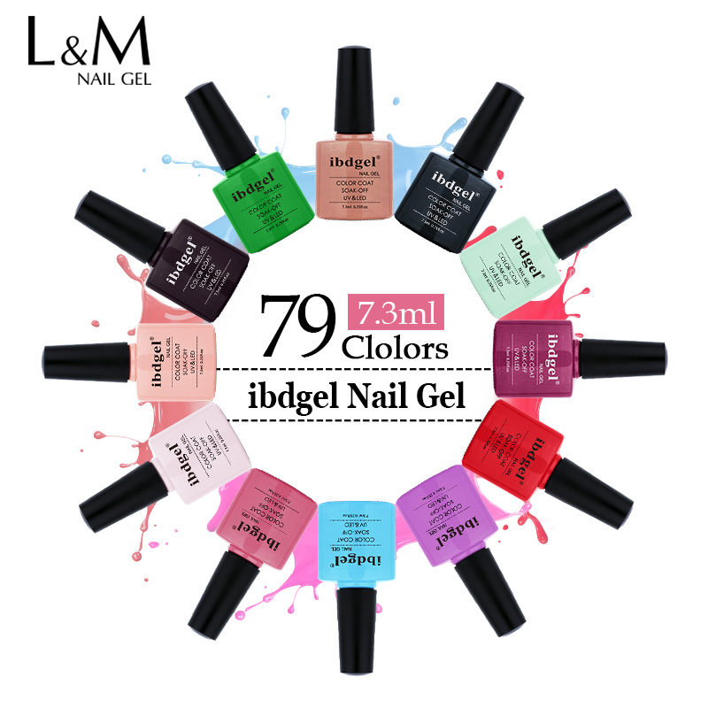 1pcs Summer Hottest Sale 79 Color Uv Led Nail Gel Polish 7.3 Ml Nail Art Gel Varnish Products Are Sold Without Limitations Nail Gel