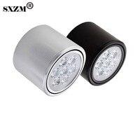 SXZM ניתן לעמעום Led downlight ספוט אור led מתח גבוה 3 W/5 W/7 W/9 W/12 W/15 W ניתן לעמעום מנורת led AC220V או AC110V