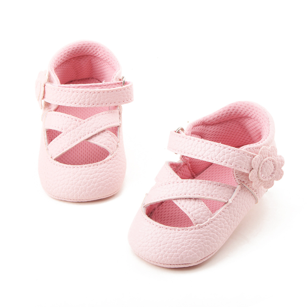 2018 Summer Flower Baby Shoes Baby First Walkers Princess Shoes Baby Girl Toddler Shoes  ...