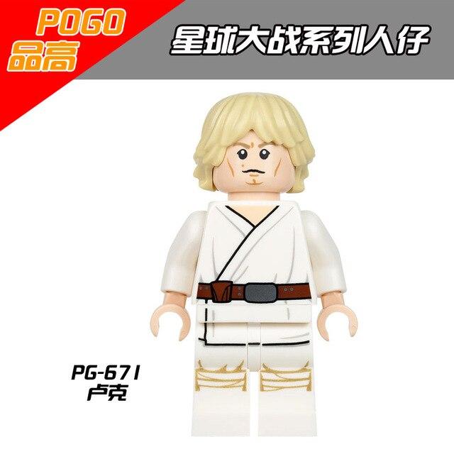 POGO 50pcs PG671 Super Heroes Luke Skywalker Qui Gon Jinn Princess Leia Slave  Bricks Blocks For Children Gift Toys-in Blocks from Toys & Hobbies on AliExpress - 11.11_Double 11_Singles' Day 1