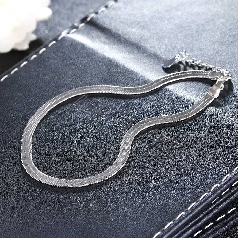 100% 925スターリングシルバーファッションladies'anklet卸売女性アンクレットジュエリー熱い販売女性夏誕生日ギフト