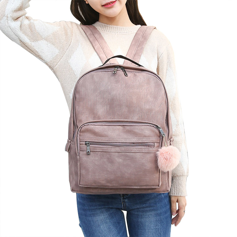 2017 ladies backpack bags women school bagpacks for teenage girls PU Leather Cute Travel Back Pack Sac a dos femme multifunction vintage cute owl backpack women cartoon school bags for teenage girls canvas women backpack brands design travel bag mochila sac