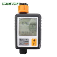 LCD Automatic Electronic Garden Water Timers Home Drip irrigation Lawn sprinkler Timing Quantitative Watering flowers Irrigation