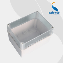 Saipwell ABS Enclosure IP66 Waterproof Electronic Enclosure Box with Clear Cover 150*200*130mm