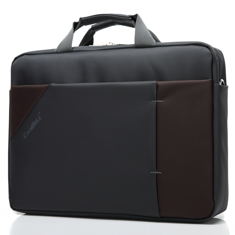 XSKN 15 inch Business Laptop Briefcase Bag Shockproof Notebook Handbag Case Computer Messenger Accessory Shoulder Bag