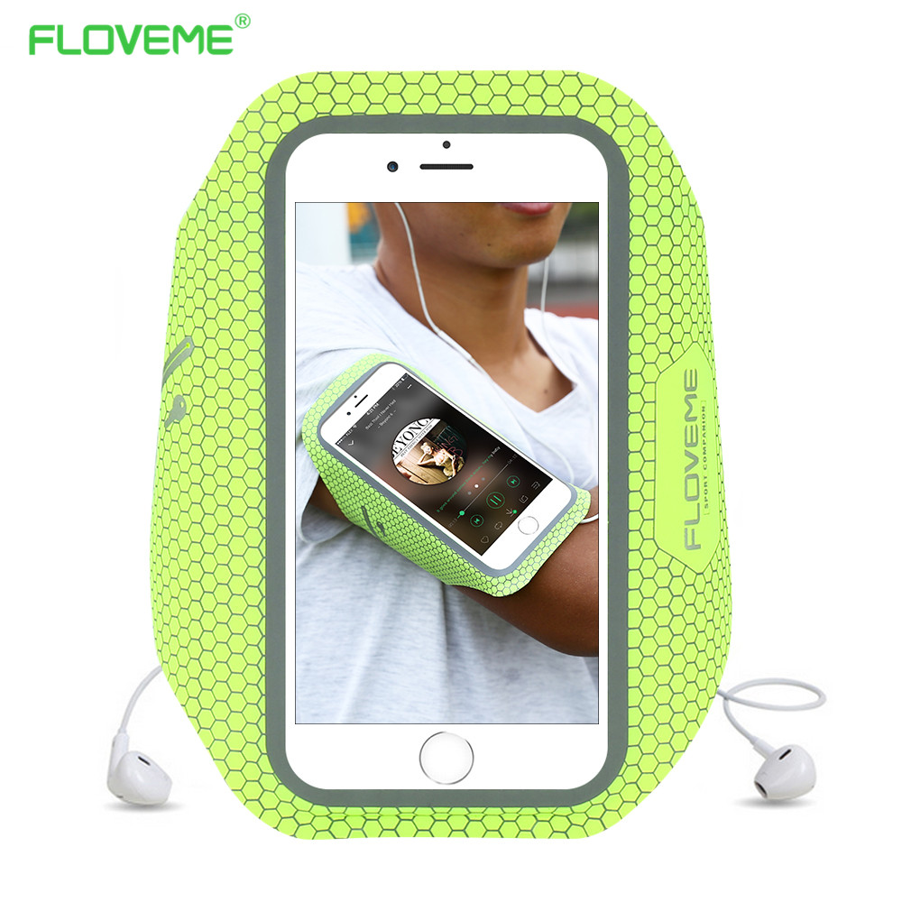 Mobile Phone Accessories Floveme Watreproof Sports Armband Cover Case For Iphone 6 7 Mobile Phone Bag Running Arm Band 4.8 Inch Phone Case To Invigorate Health Effectively Armbands