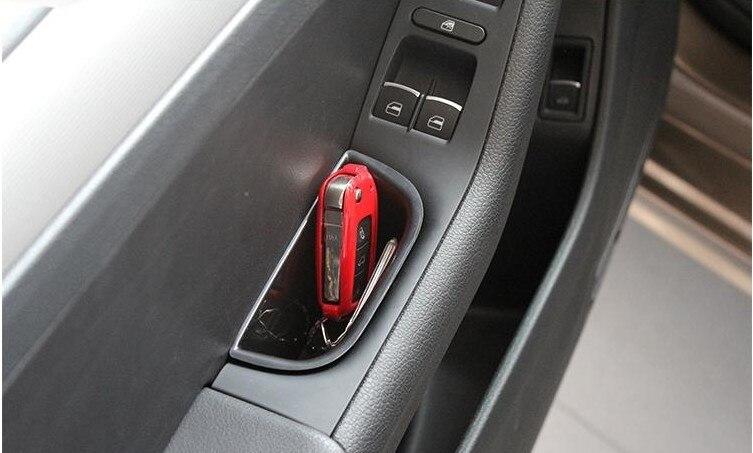 Для Volkswagen VW Jetta MK6 2011 2012 2013 двери автомобиля Подлокотники коробка для хранения автомобильные аксессуары