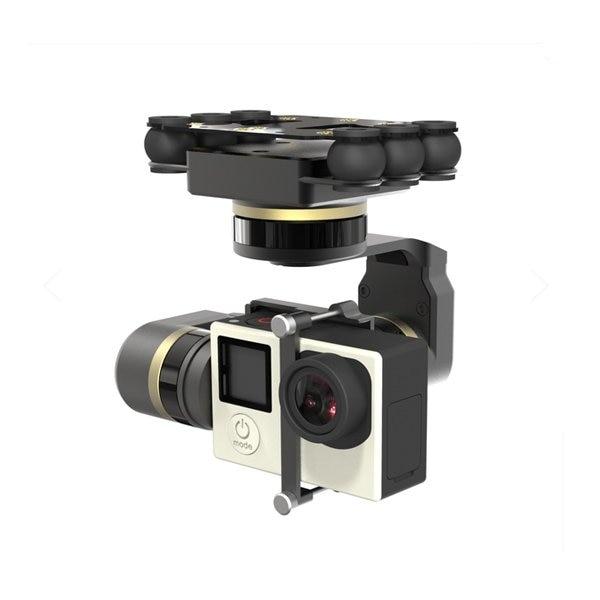 Livraison Gratuite Feiyu Mini 3D Pro 3-Axe Brushless Cardan pour Gopro 3/3 +/4 Freeshipping