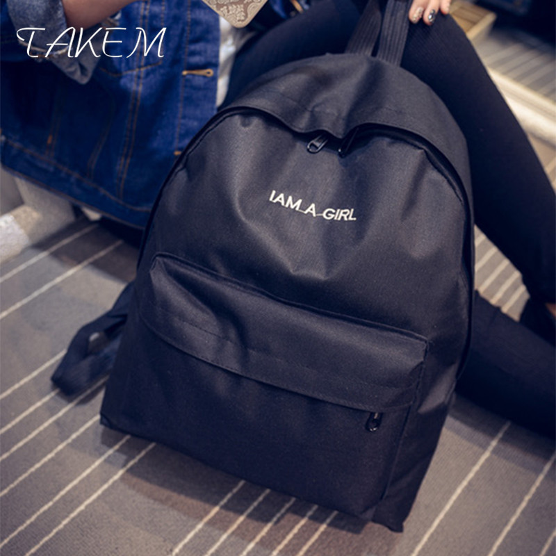 TAKEM 2018 Women Backpack High Quality School Bags For Teenagers Girls Top-handle Backpa ...