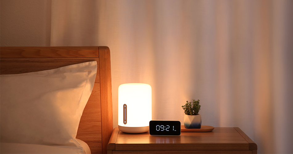 New Version Xiaomi Mijia Bedside Lamp 2 Smart Light voice control touch switch smart APP color adjustment For Apple Homekit Siri (1)