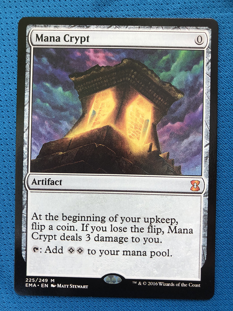 Mana Crypt EMA Hologram Magician ProxyKing 8.0 VIP The Proxy Cards To Gathering Every Single Mg Card.