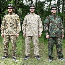 56e14b5cfacd64 Army Military Tactical Uniform Shirt + Pants Camo Camouflage Combat Uniform  US Army Men's Clothing Suit · 3 Colors Available