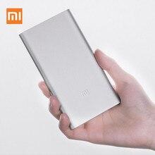 Original Xiaomi Power Bank 5000 mAh Portable aluminum alloy mobile power supply Support mobile phone Smart bracelet Tablet