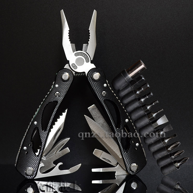 Multifunctional pliers folding Knife tools special outdoor equipment board hand knife clamp portable combination pliers knife