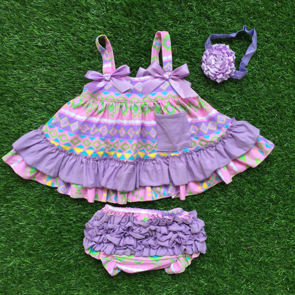 2016 girls boutique clothing sets infant girl clothes baby ...