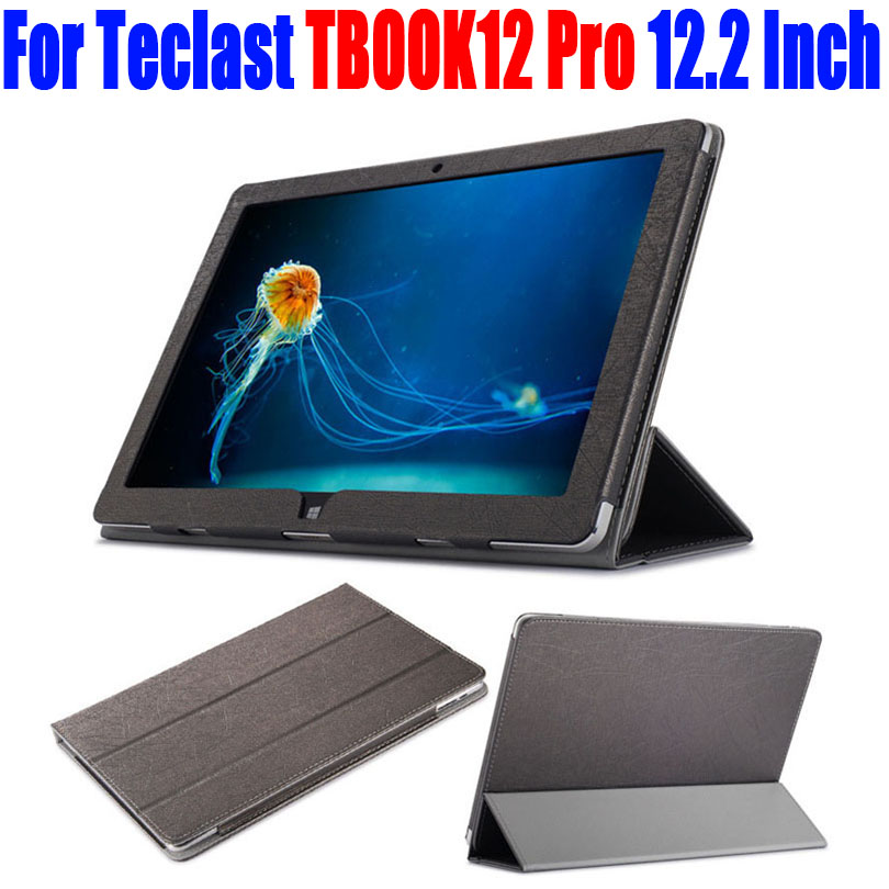 For Teclast TBOOK12 Pro 12.2 Inch Case Luxury PU Leather Flip cover tablet pc Stand Case For TECLAST TBOOK 12 PRO TL13