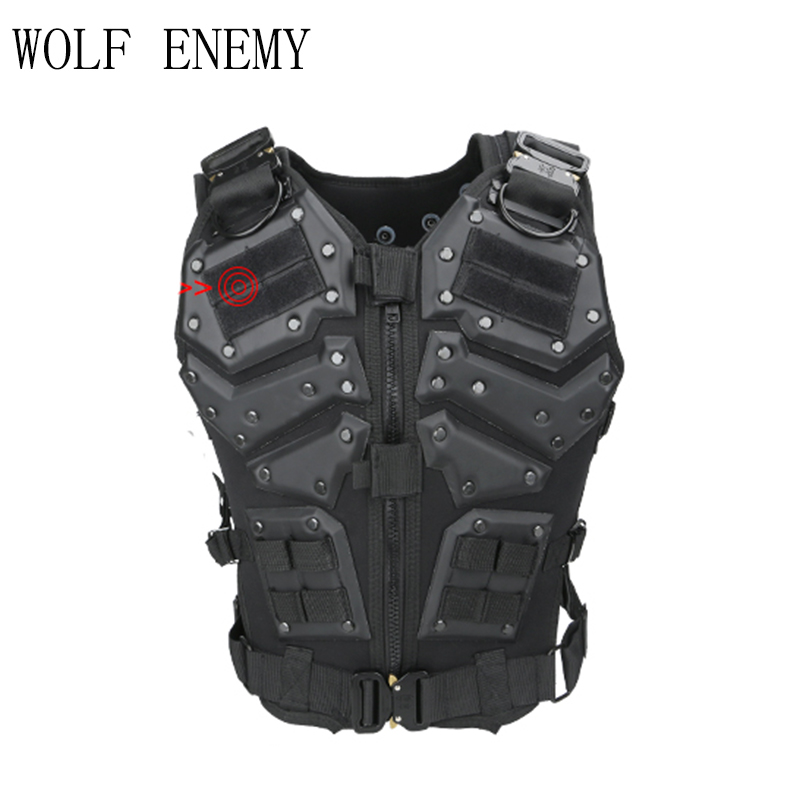 New Tactical Vest Multi-functional Tactical Body Armor Outdoor Airsoft Paintball Training CS Protection Equipment Molle Vests airsoft adults cs field game skeleton warrior skull paintball mask