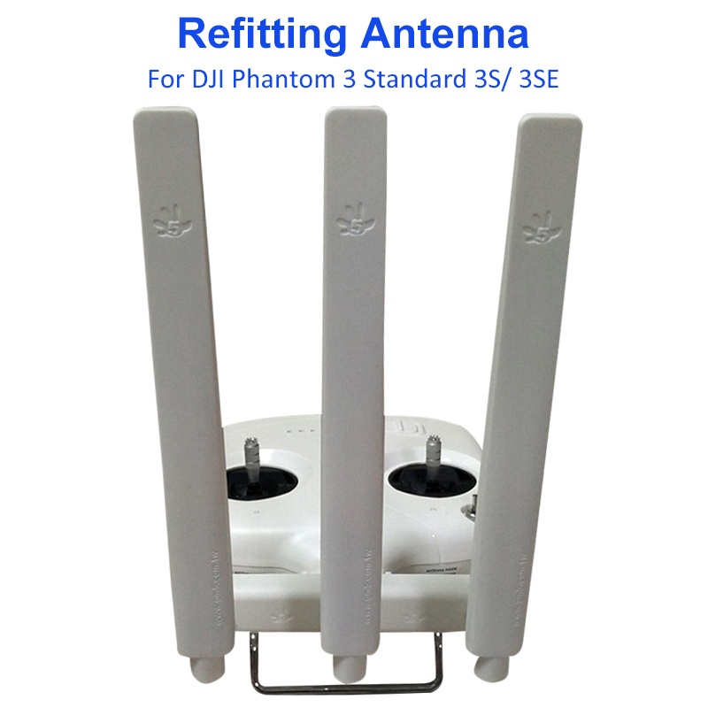 DJI Phantom 3 Standard 3S 3SE Omni directional Extended Range Signal Booster Signal Enhanced Refitting Antenna