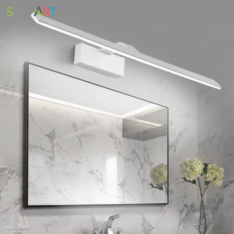 Solfart Modern Led Sconce Wall Lights Arandela Bathroom